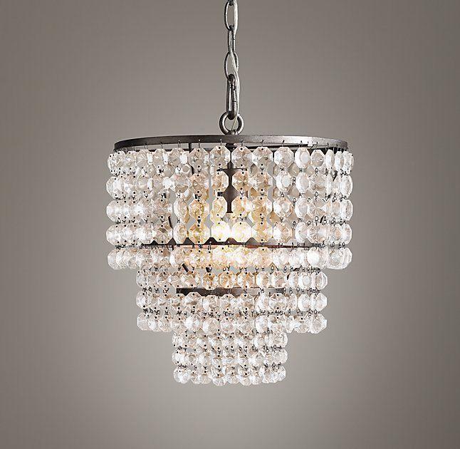 Restoration hardware soho crystal chandelier pewter silver 104830 restoration hardware soho crystal chandelier pewter silver 104830 crys art deco ebay aloadofball Choice Image