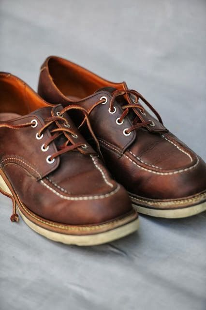 03c169886f Red Wing Moc Toe Oxfords