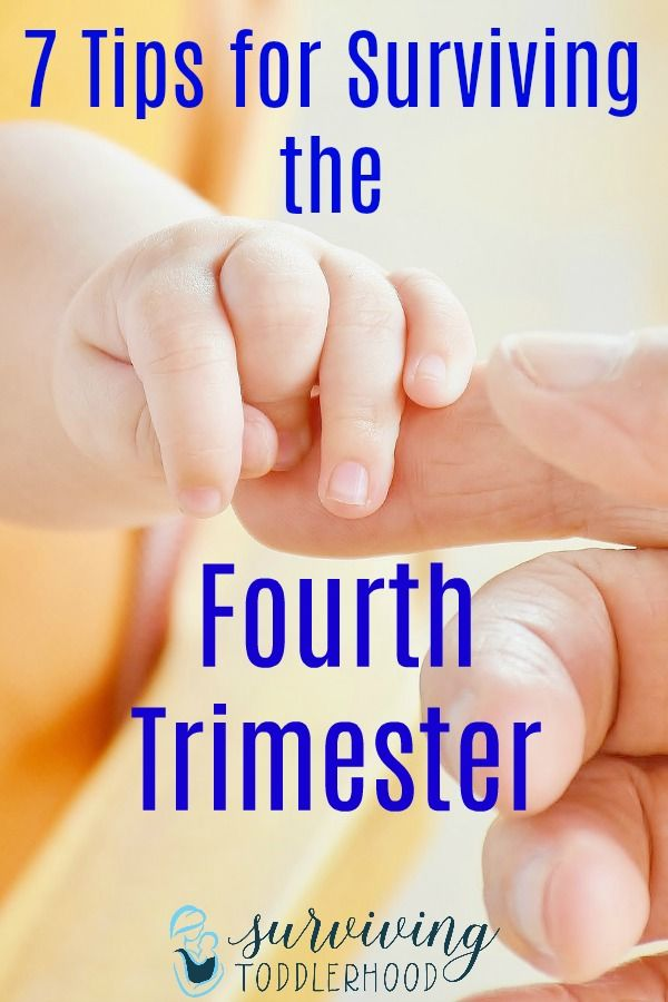 7 Tips for Surviving the 4th Trimester - Surviving Toddlerhood