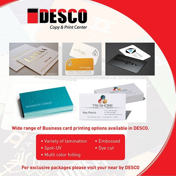 When You Need Print Think Desco Copy Print Center Dubai