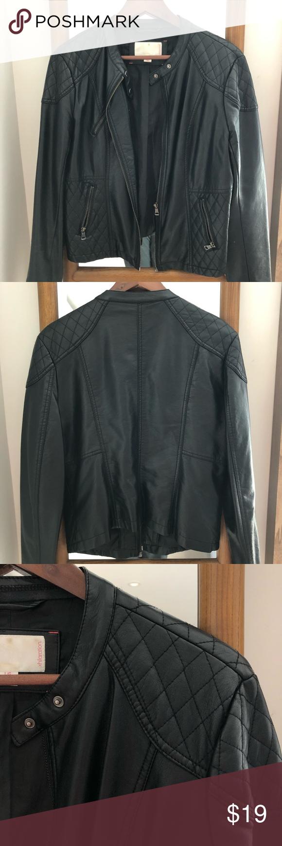 Faux Leather Jacket Faux Leather Jackets Leather Jacket Clothes Design [ 1740 x 580 Pixel ]