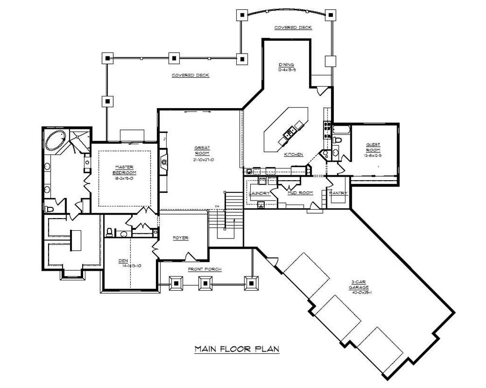 Gatlin-Rentfrow Designs, 2 story These Mountain House Plans have ...