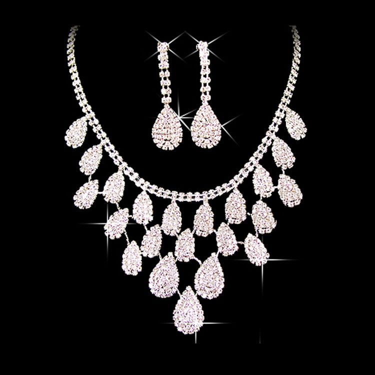 Wholesale bridal costume jewelry sets Weddings and rings and