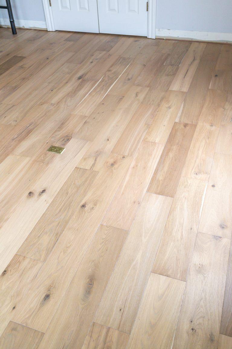 How To Install Click Lock Engineered Hardwood Flooring ...