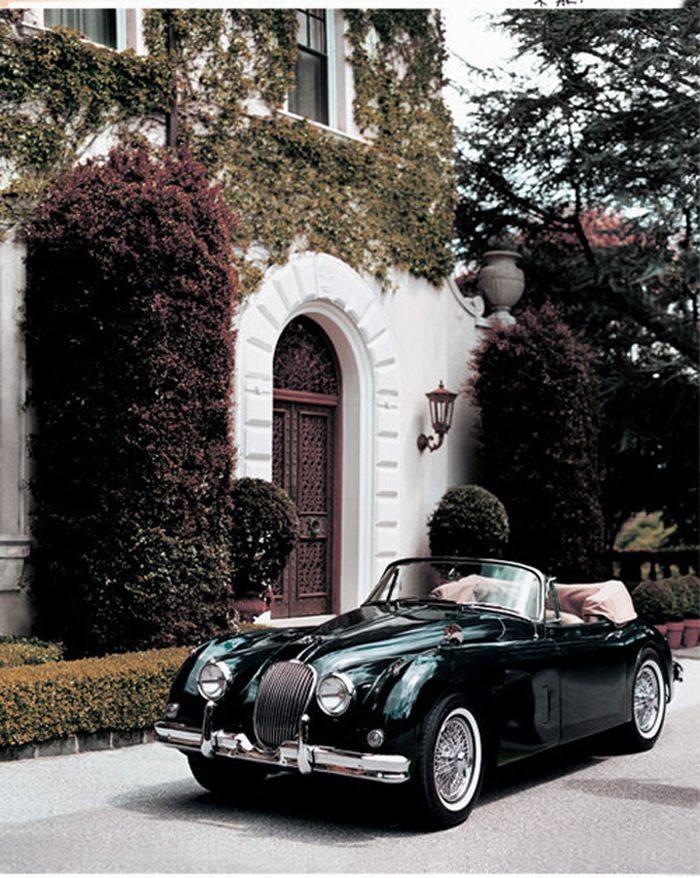 1951 Jaguar XK120 Competition Roadster I am in love with this car!!