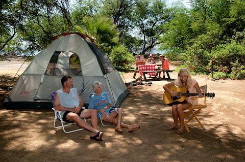 Beachside Camping Camp Olowalu Maui Hawai I Rv