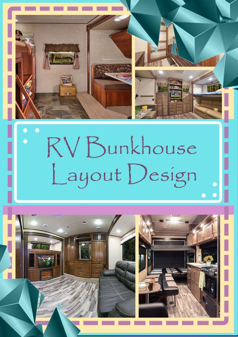 best bunkhouse travel trailer under 30 ft   Layout, Bunk ...
