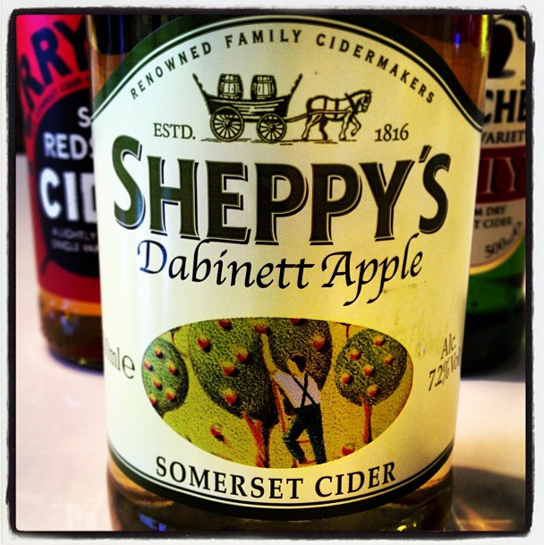 Sheppy's Dabinett Apple Somerset Cider - 7.2% Vol. - a full flavoured medium single variety cider