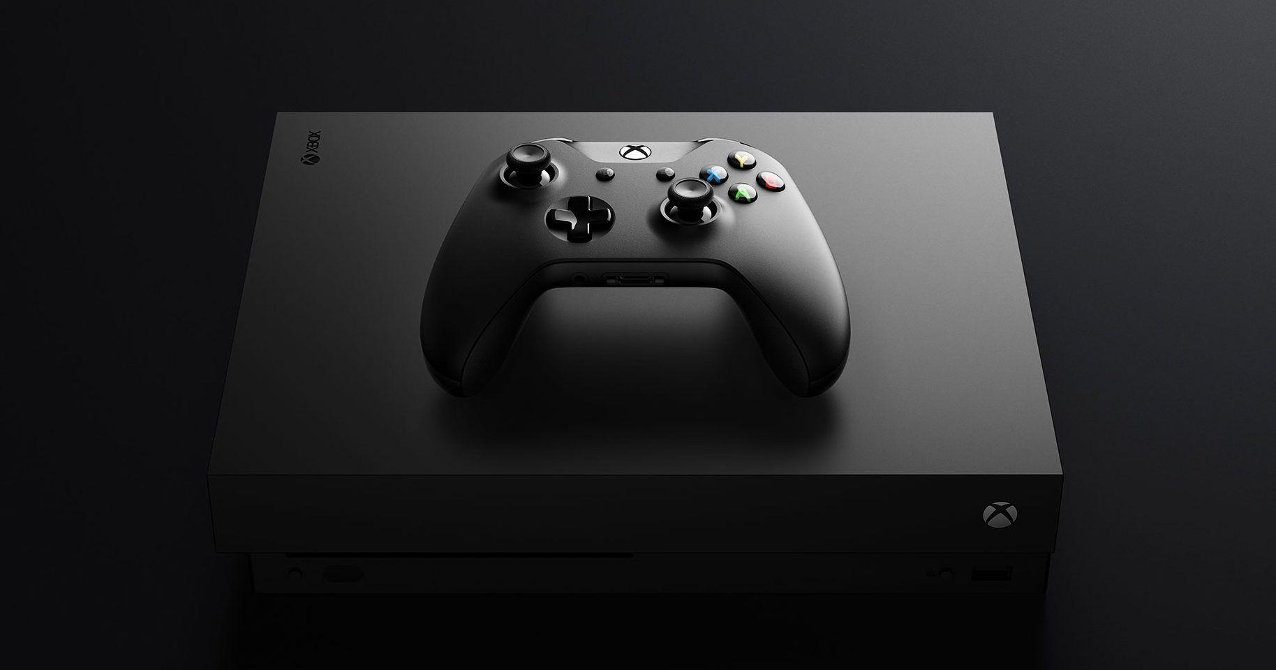 Review Microsoft Xbox One X Xbox One Xbox