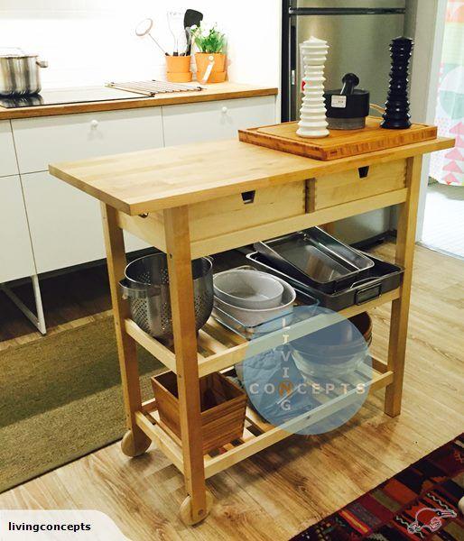 Terrific Ikea Forhoja Kitchen Trolley Hallway Table Trade Me Download Free Architecture Designs Scobabritishbridgeorg