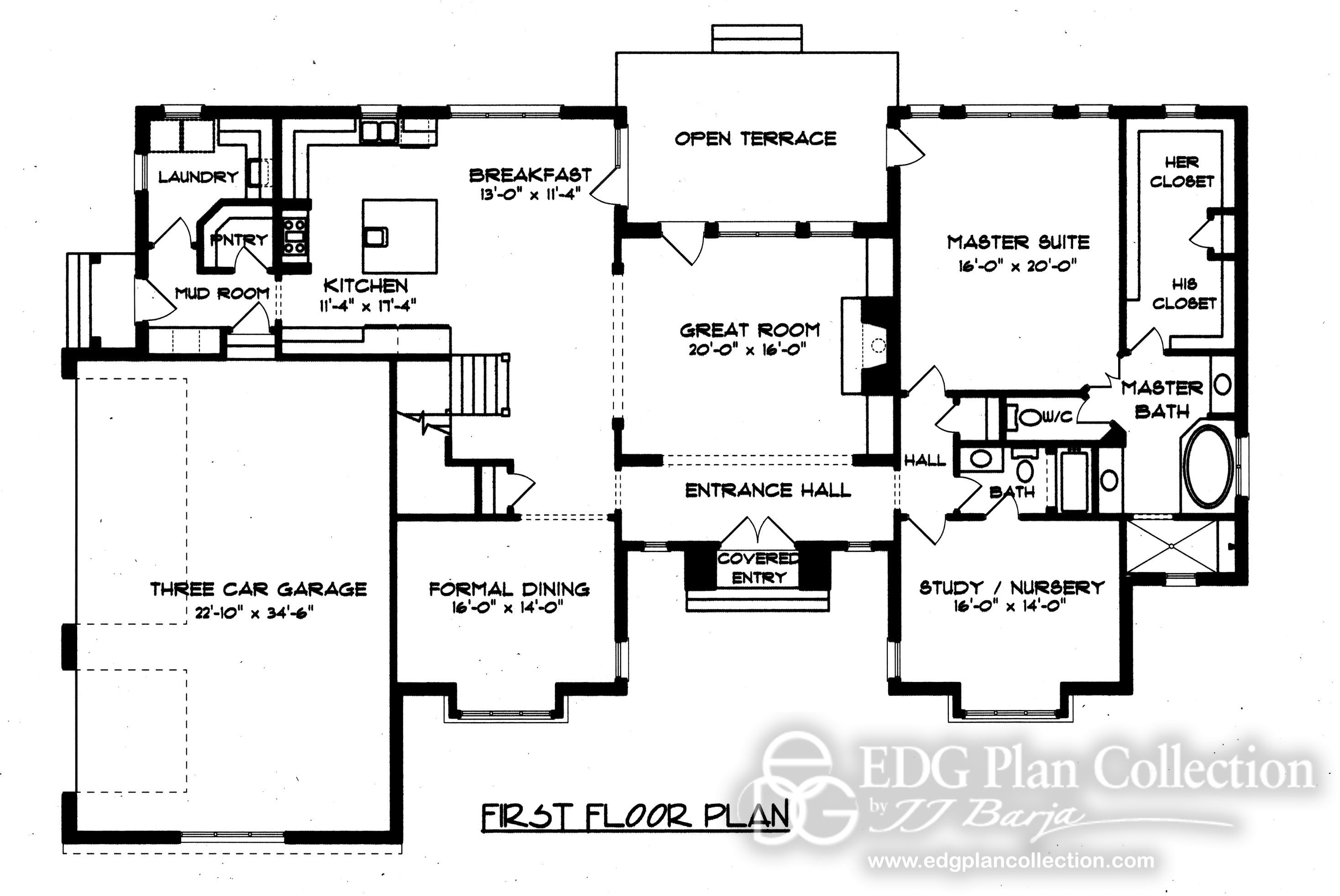 This floor plan is from an English Manor. I really like it and plan ...