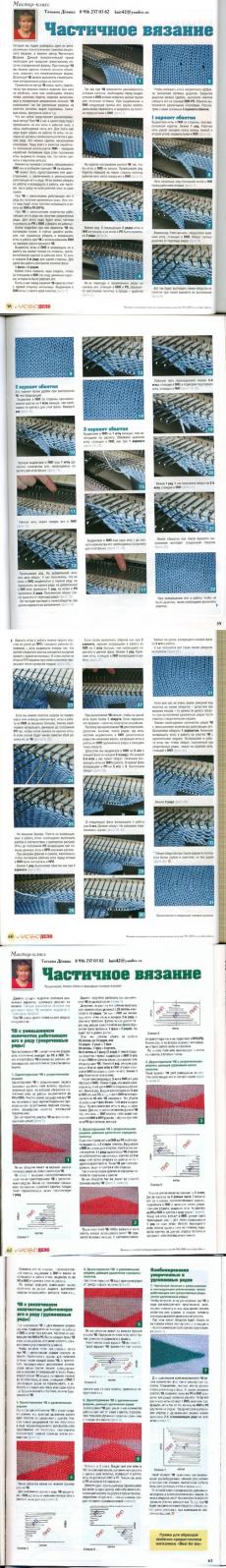 Машинное вязание. Уроки Татьяны Деминой.