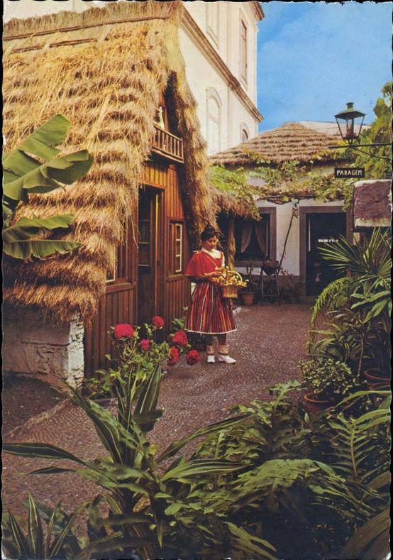 Traditional house Madeira Portugal Madeira ilha