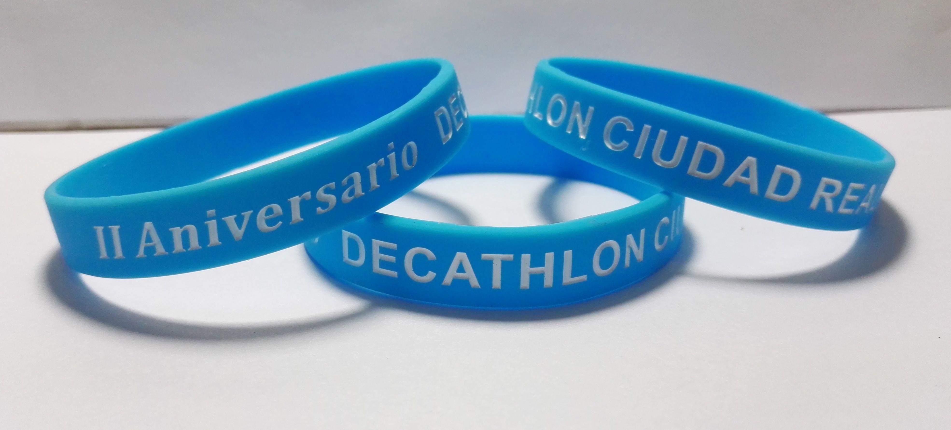 Abultar Propio Loza de barro  Pulseras promocionales #decathlon #ciudadreal   Pulseras, Silicona,  Pulseras de silicona