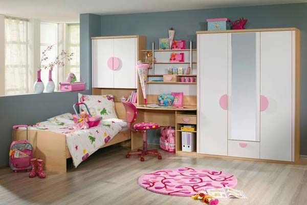 Sweet Girls Bedroom Ideas from Rauch - If you are about looking for sweet girls bedroom design, Germany furniture company Rauch presents us various designs and styles for children bedroom. These sweet girls bedrooms are some of their innovative desig