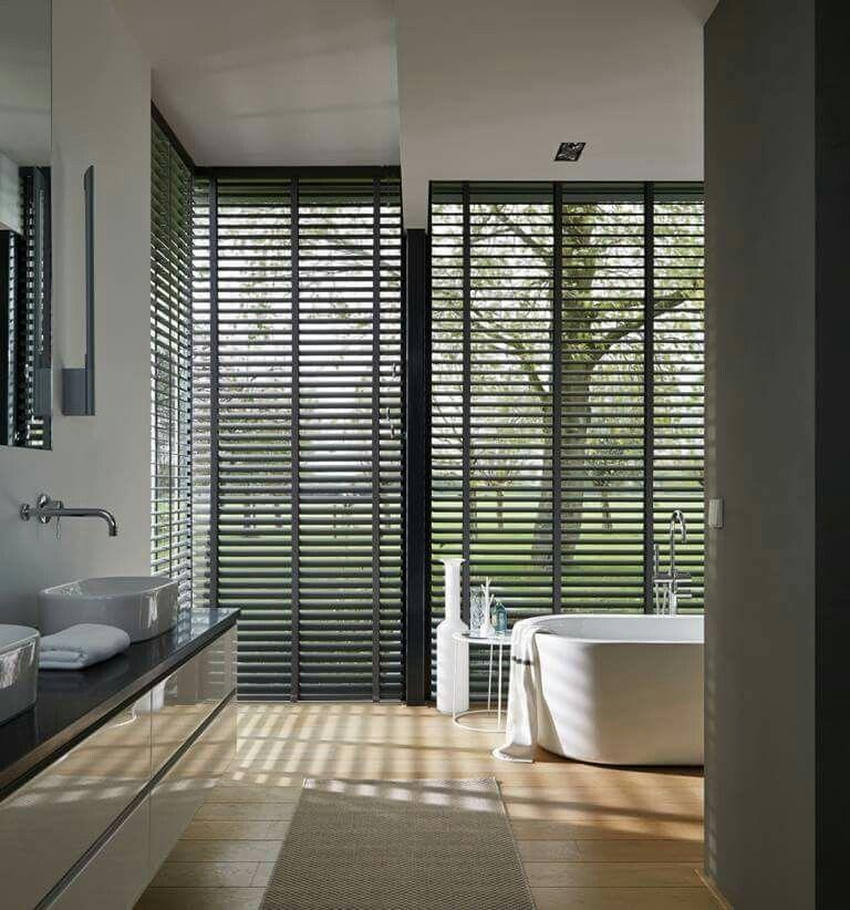 Nice in the bathroom. - Luxaflex | Pinterest - Inspiratie