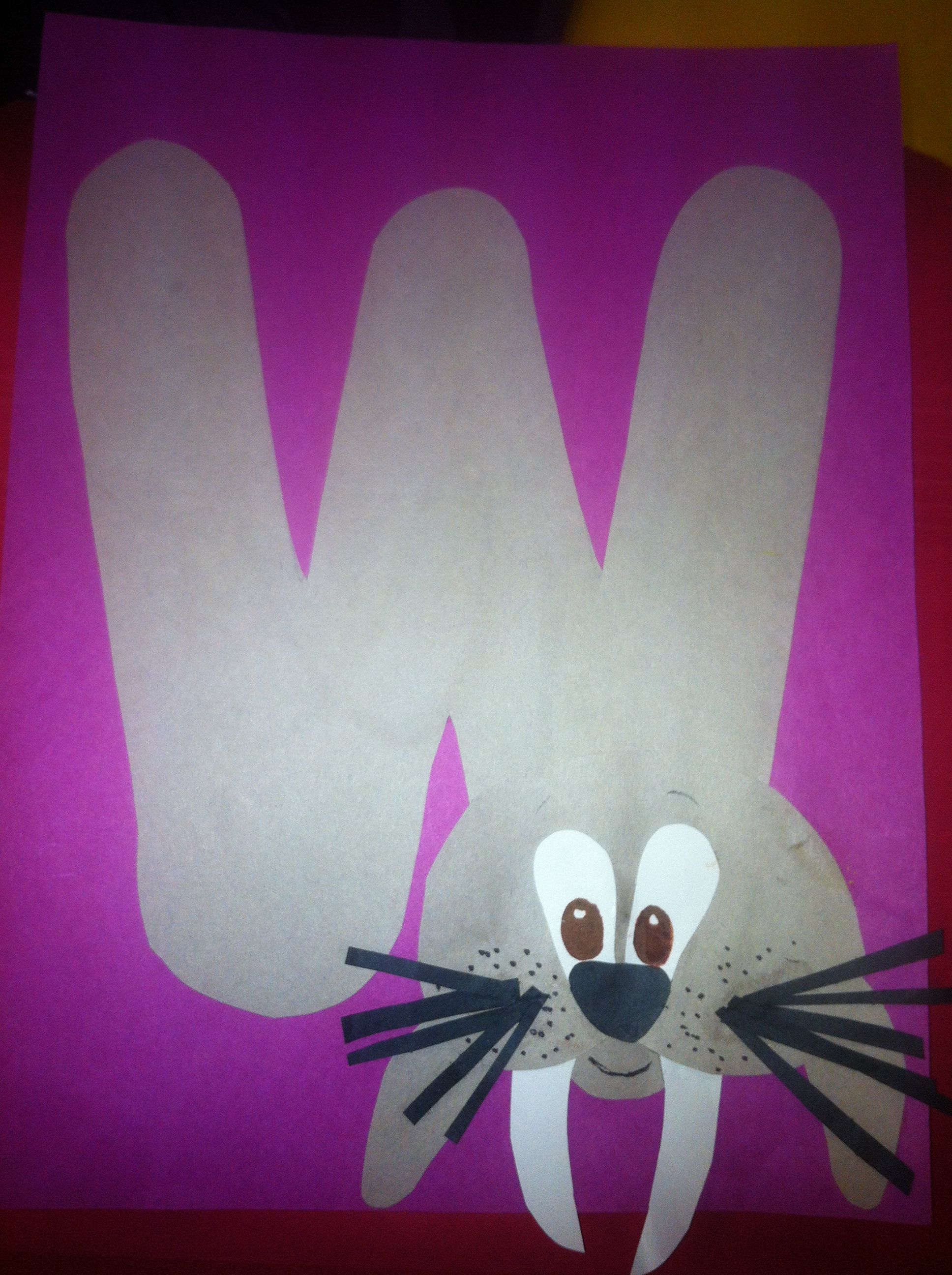 letter of the week with free printable worm stick puppet