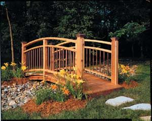 Garden bridges designs landscape and gardening Pinterest