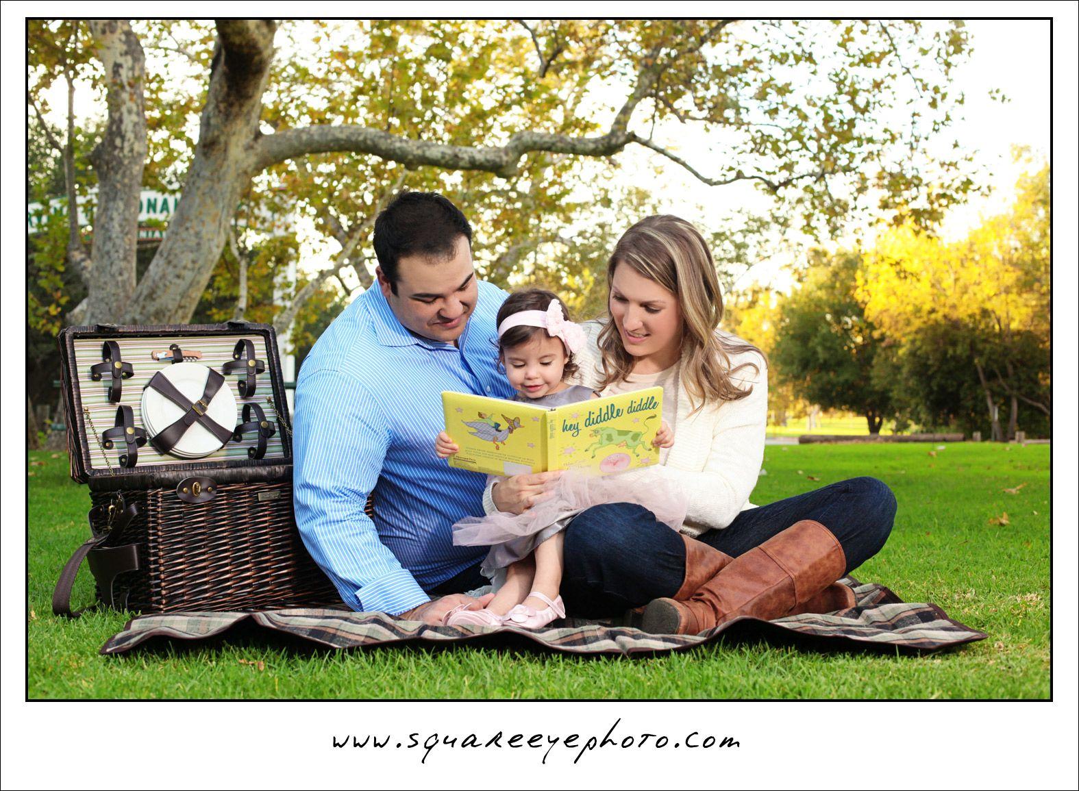 Outdoor Family Photo Shoot Ideas 1 year girl pho...