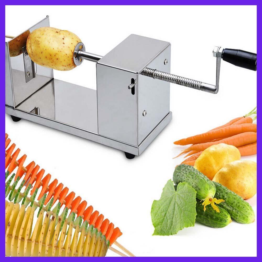 1 pc Manual spiral potato chips twister slicer cutter tornado twist machine utensilios de cocina cortador for batata espiral