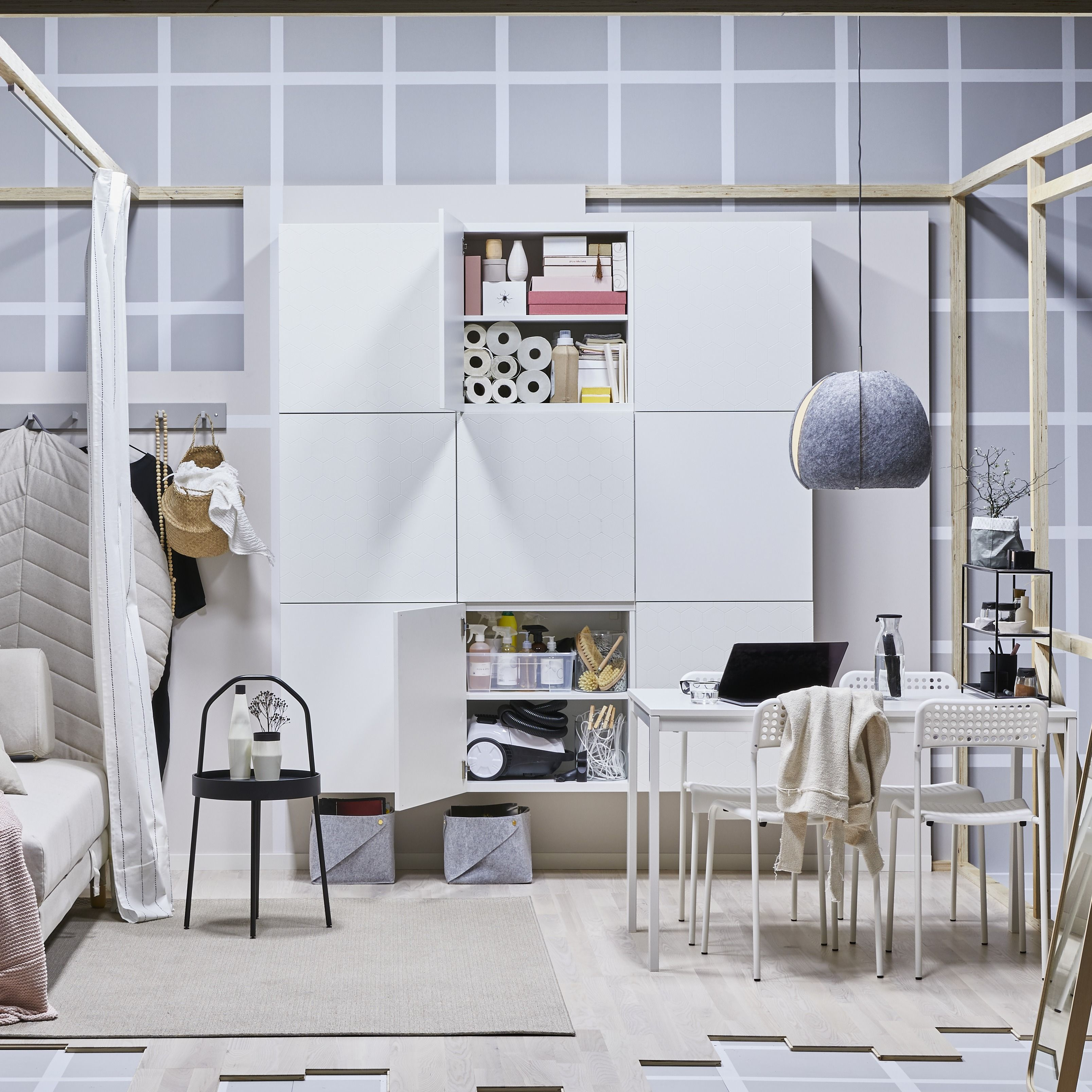 Besta Customised Storage System Besta Has Evolved Into A Multi Purpose Solution Across The Living Room It S Modularity Means You Have A Fre Ikea Storage Inspo