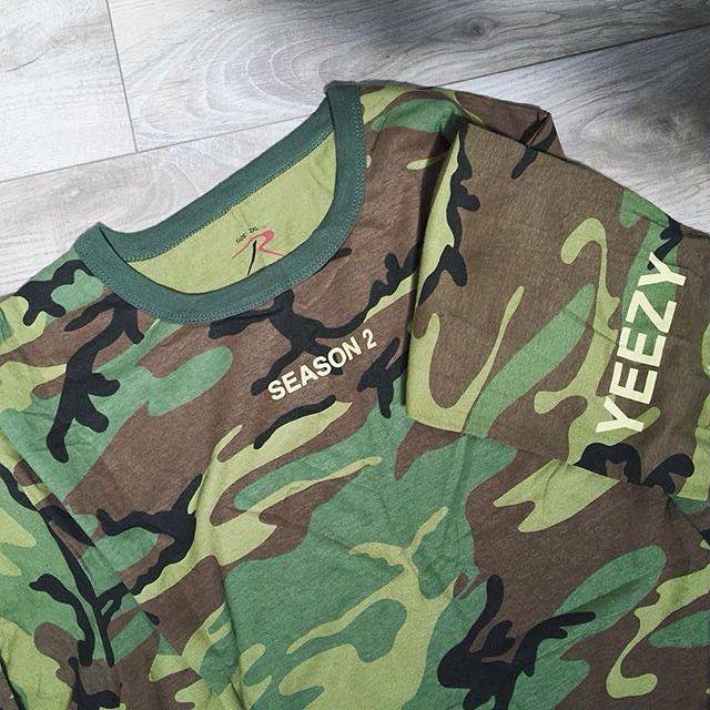 7b9c61b0 Yeezy Season 2 camo invitations. | Cool Gear Bro | Fashion, Yeezy ...