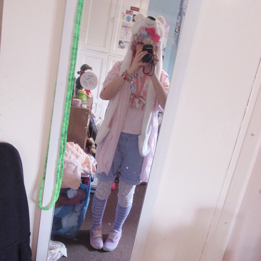 A fairy kei / decora look from the other day ✨