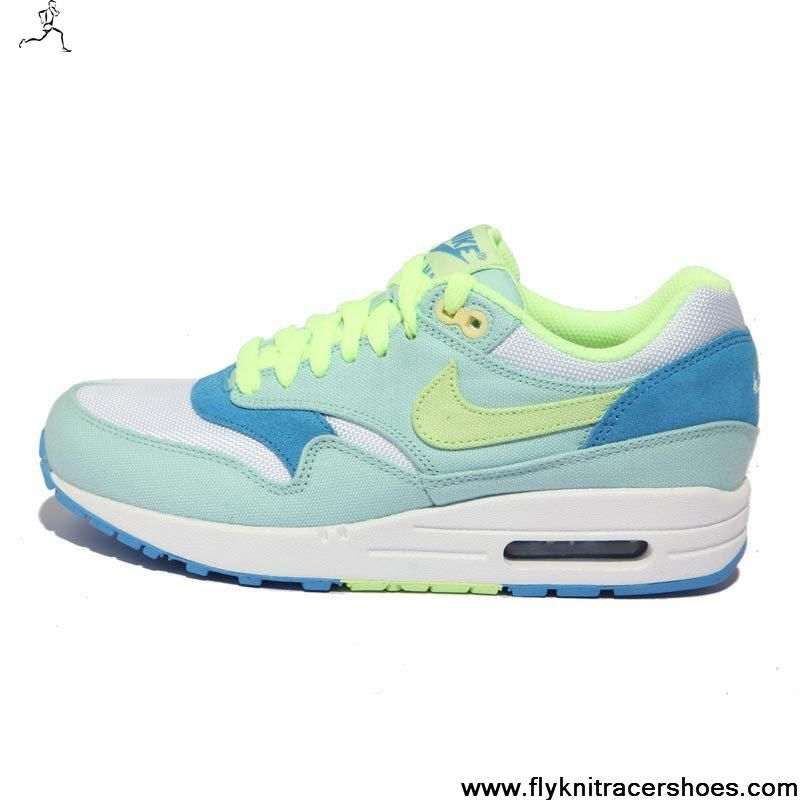 Discount Julep Liquid Lime Coast White Shoes 319986-301 Womens Nike Air Max 1 Newest Now