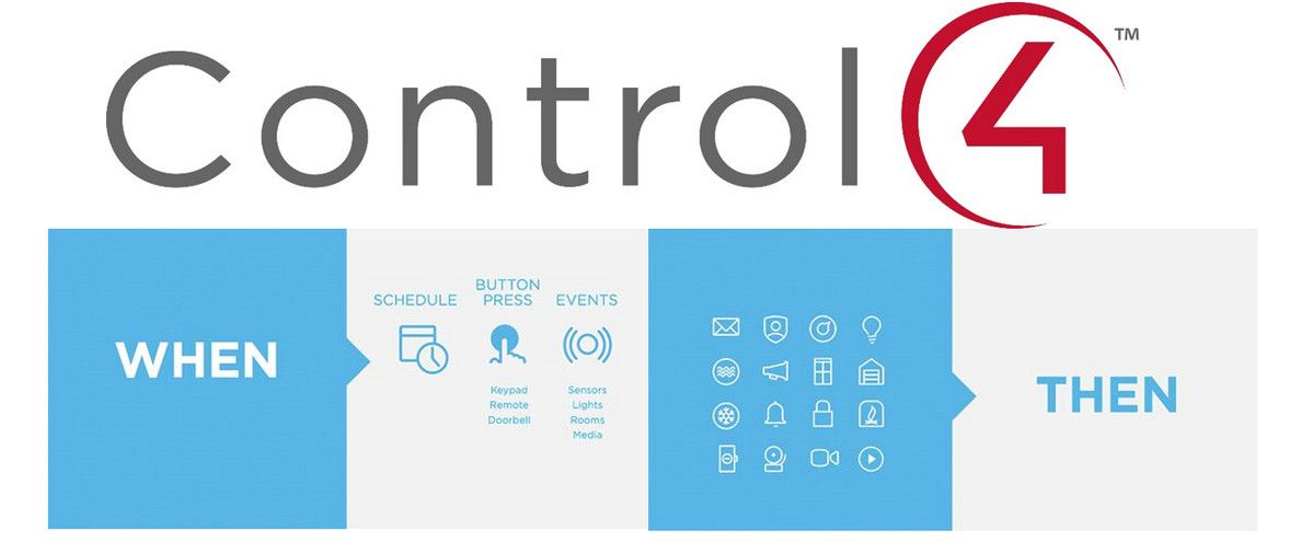 Control4 Adds If/Then Engine to Home Automation, Lets End
