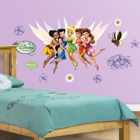 Disney Fairies - Fathead Jr.  Price : $39.99 http://www.icon-sports.com/FatHead-Disney-Fairies-Fathead-Jr/dp/B00D39SW4Q