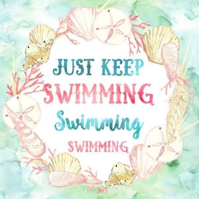 Just Keep Swimming Printable Encouraging Quote Inspiring Finding Dory Celebrating Everyday Life With Jennifer
