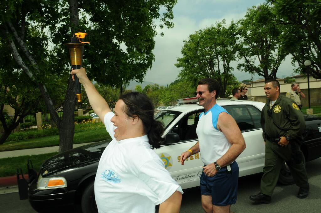 Special olympics torch run june 3 2013 photo credit c