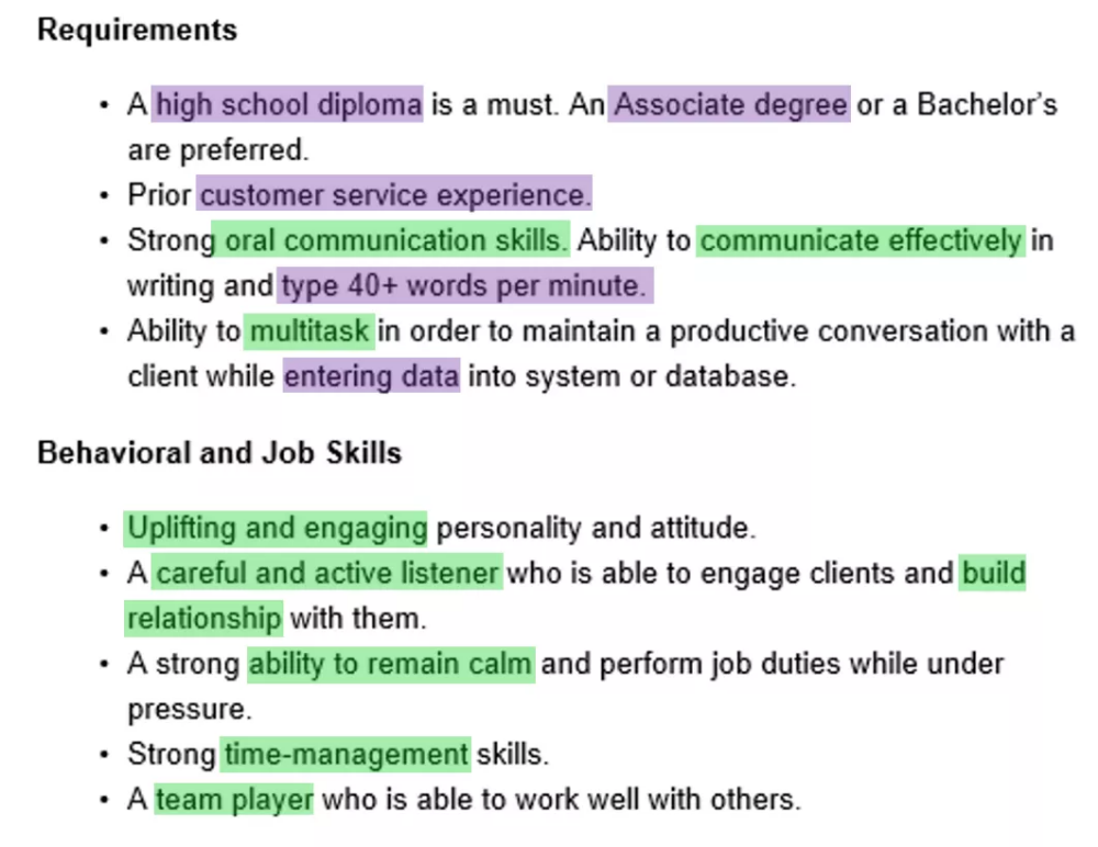 3 Ways To Showcase Skills On A Customer Service Representative Resume Geoff Scott Life Hacks For School Oral Communication Skills Resume Skills