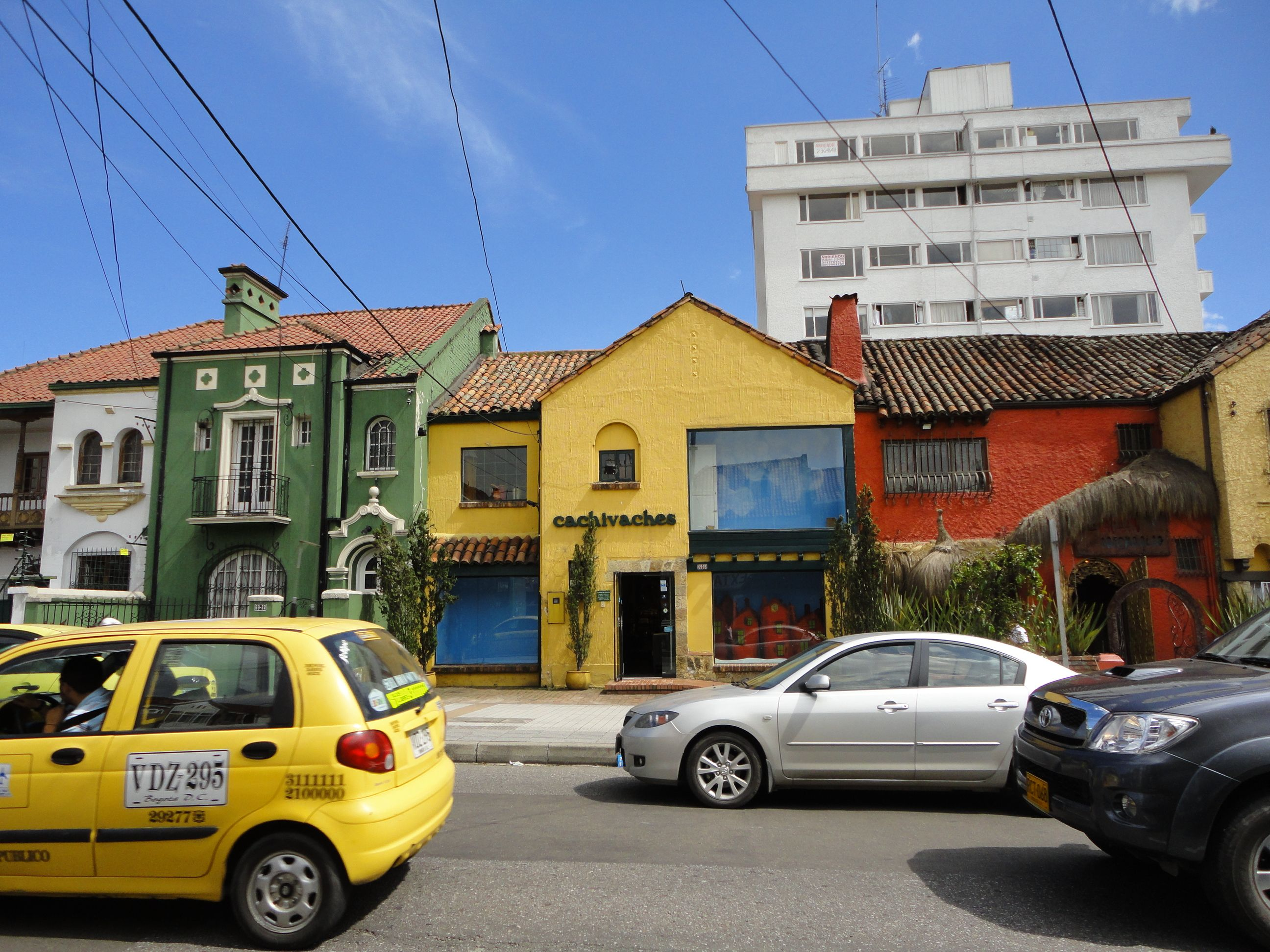 Colombian Houses And Cafes Bogota Cafe Eje Cafetero  # Muebles Relax Barranquilla
