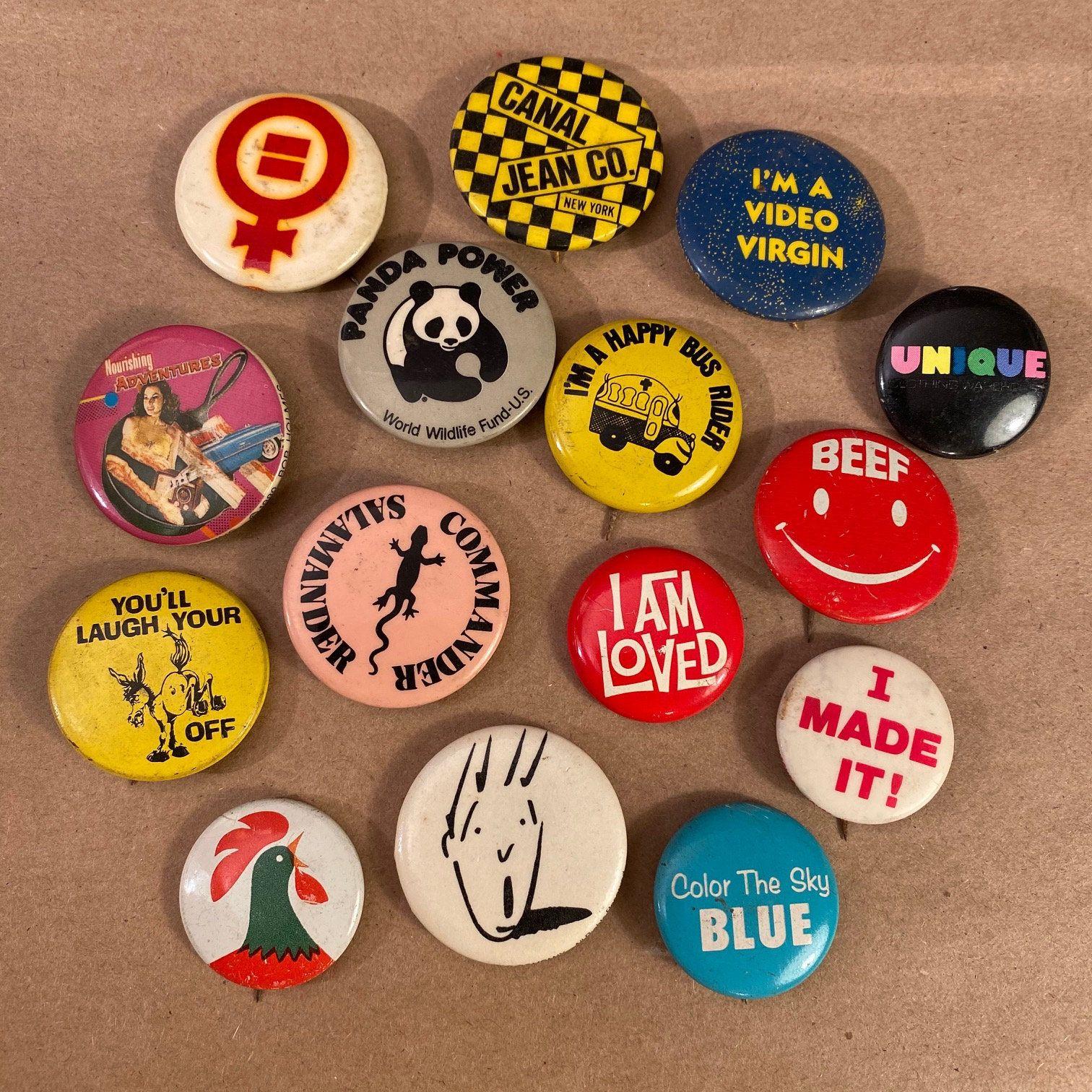 80/'s James Brown Badge
