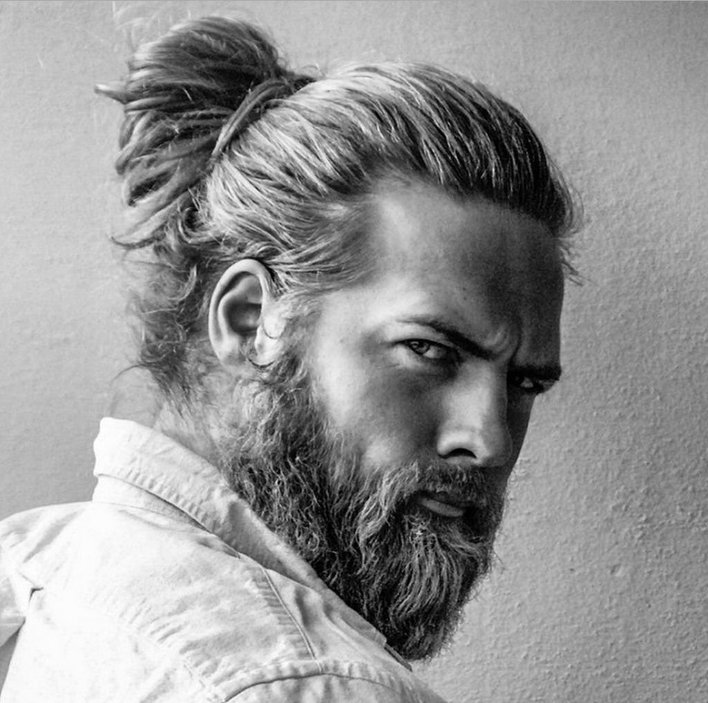 how to do a half ponytail men hairstyle   my hairstyle trend