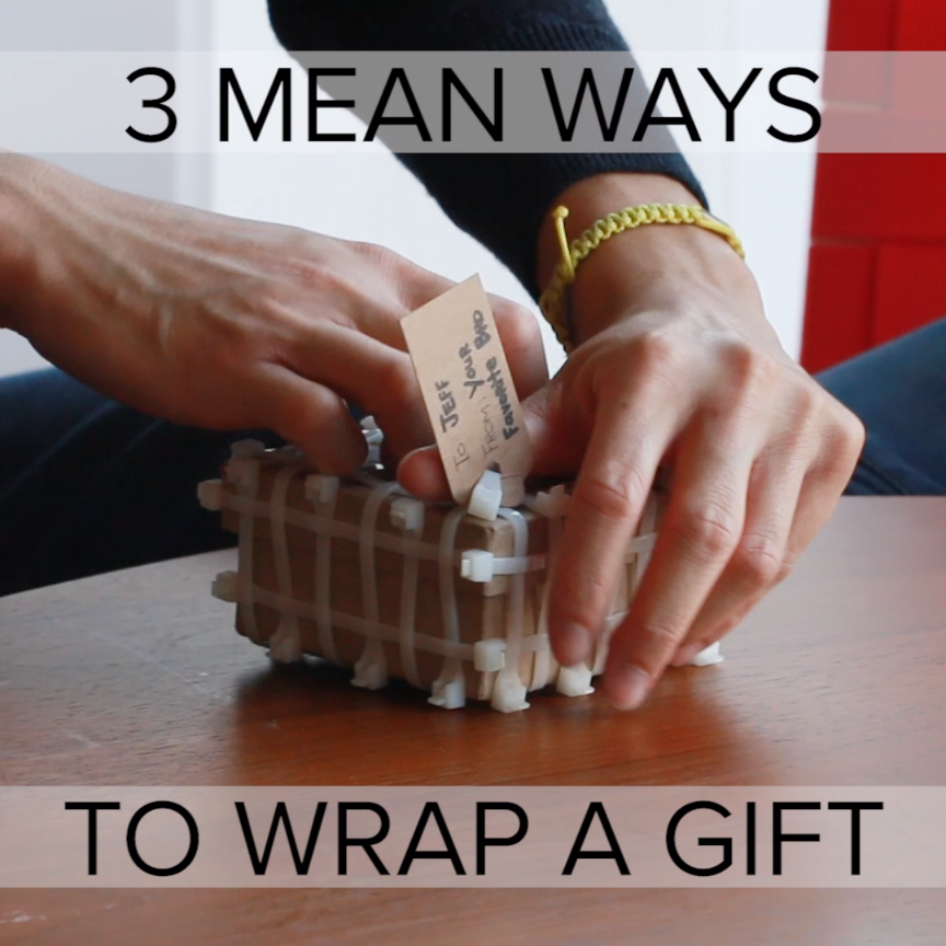 3 Mean Ways To Wrap A Gift // #gifts #holiday | Craft it ...