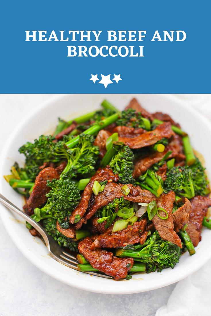 Healthy Beef And Broccoli Delicious Beef Recipe Beef Recipes Beef Casserole Recipes
