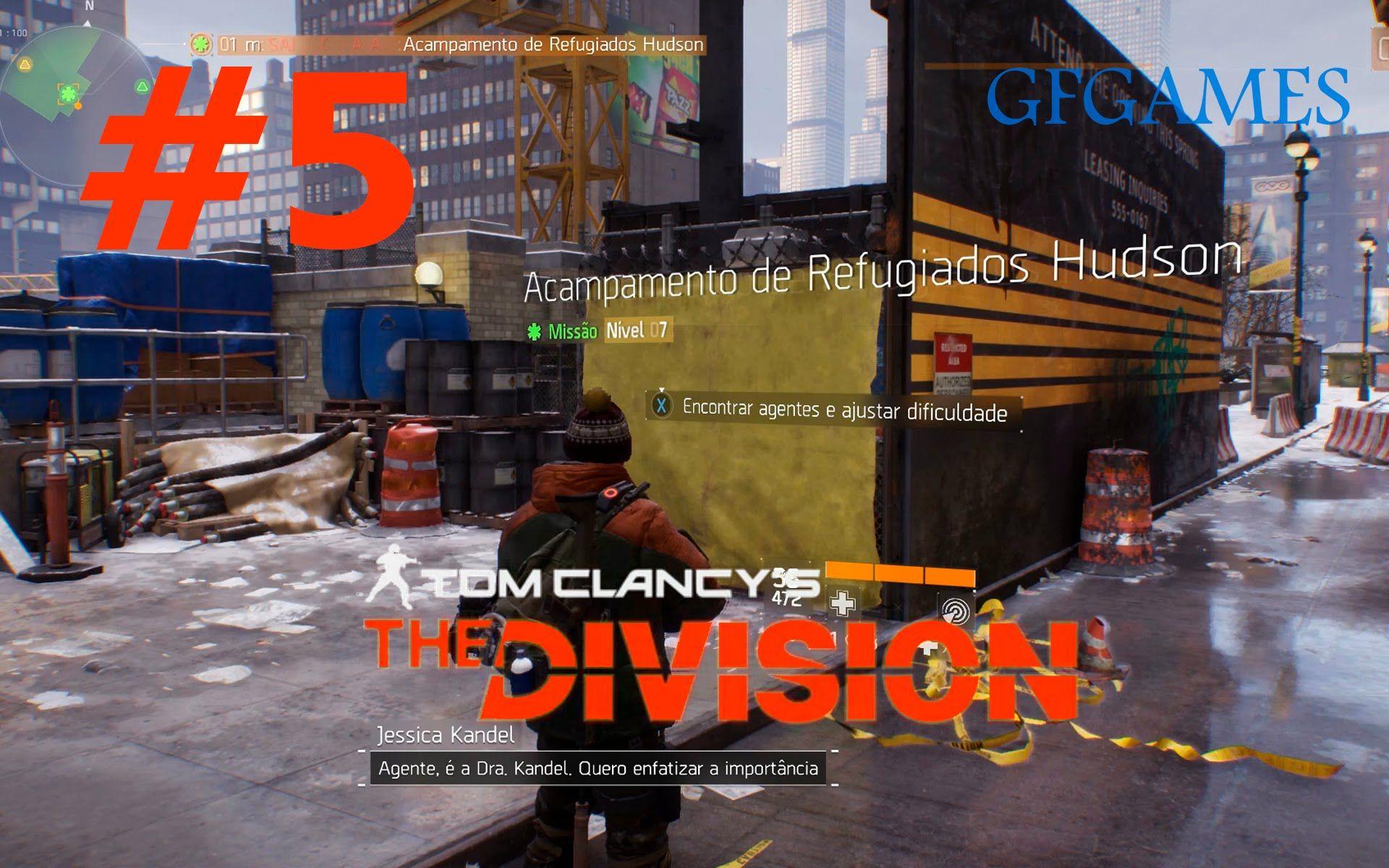The Division #5 - Acampamento de Refugiados Hudson