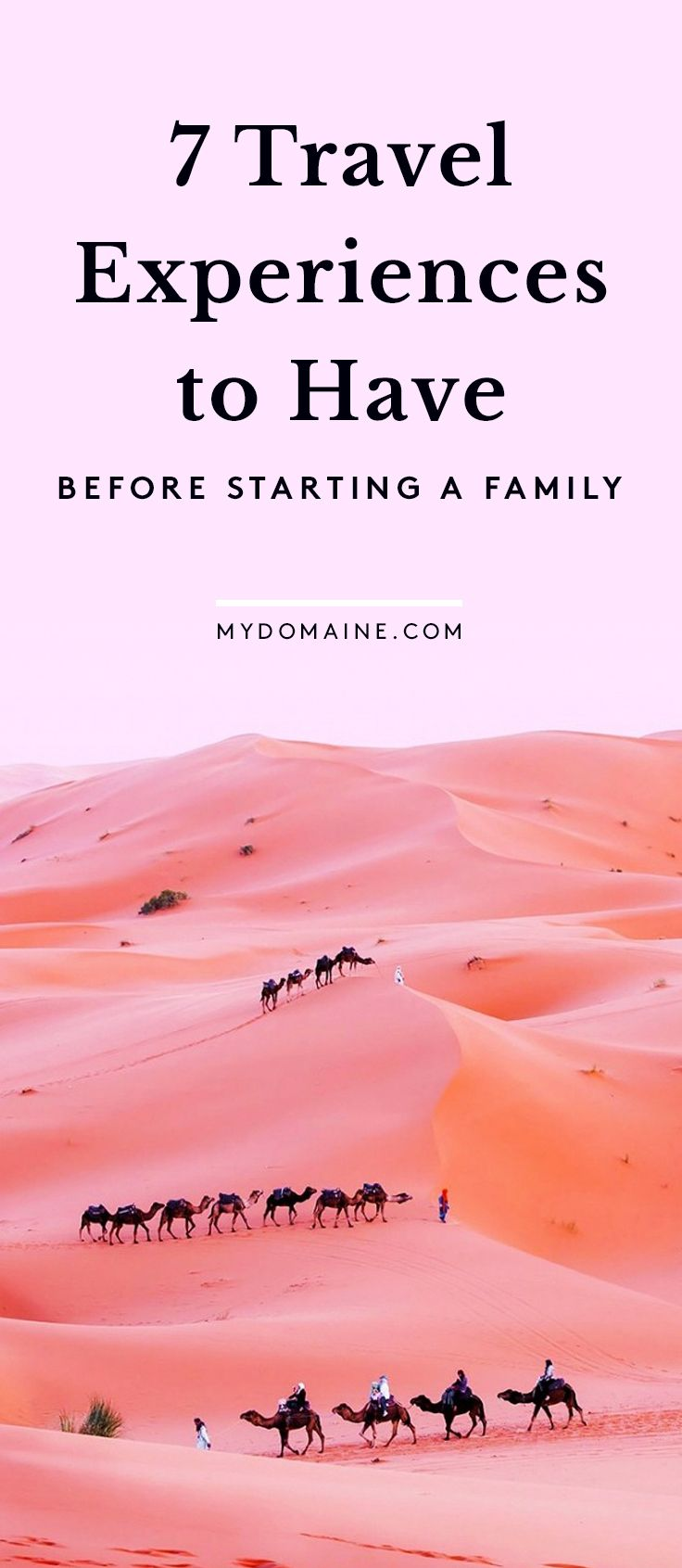The Travel Bucket List You Need Before Starting a Family. #travel #wanderlust