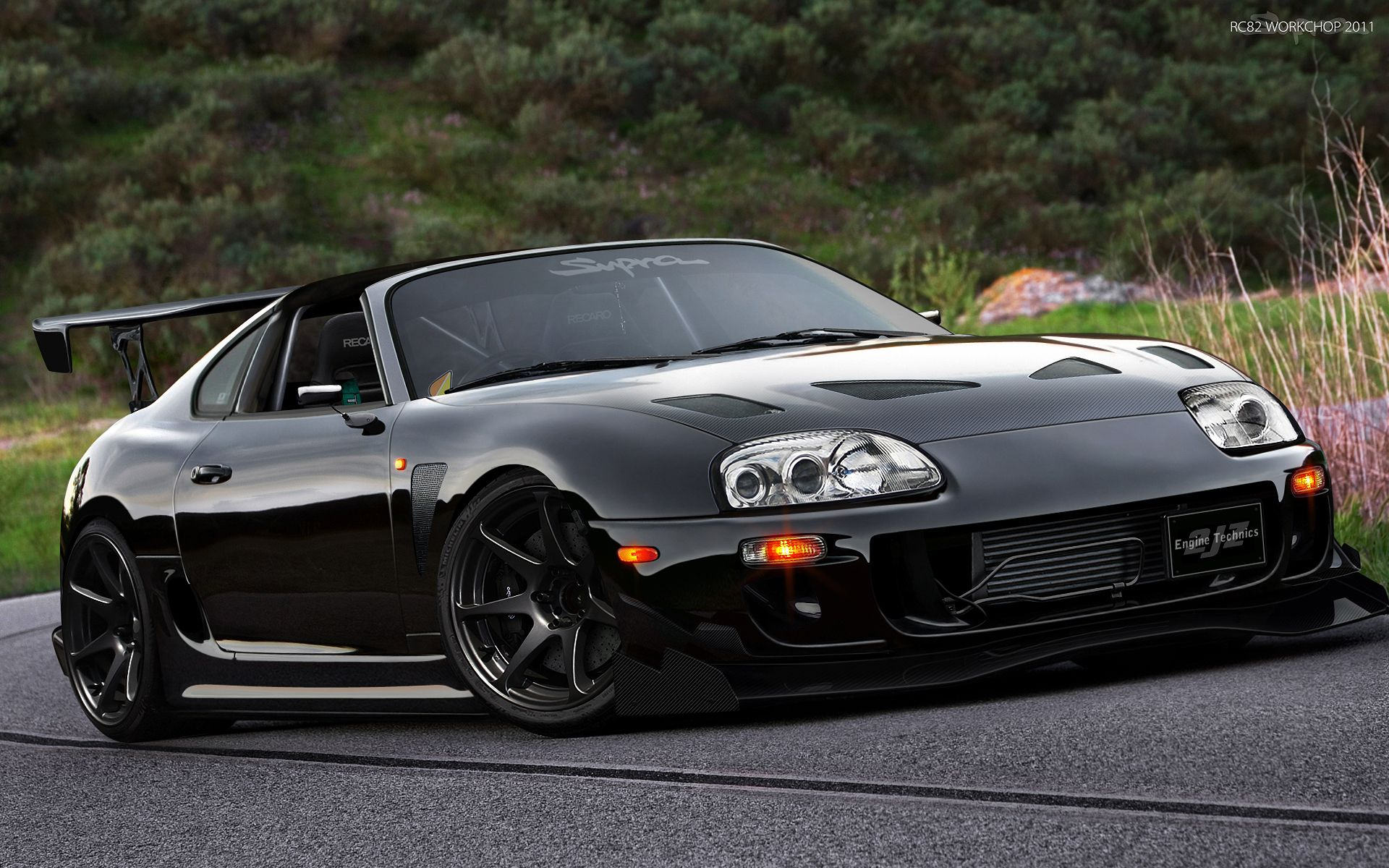 toyota supra black 3 supra pinterest toyota supra toyota and cars. Black Bedroom Furniture Sets. Home Design Ideas