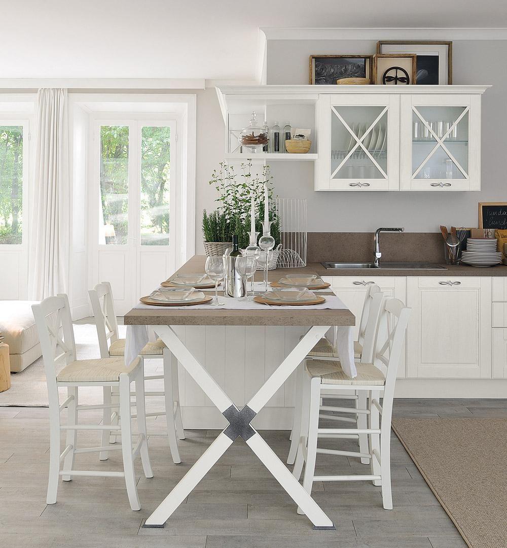 sicc cucine - cucine componibili, moderne, classiche, in muratura ... - Landhauskchen Mediterran