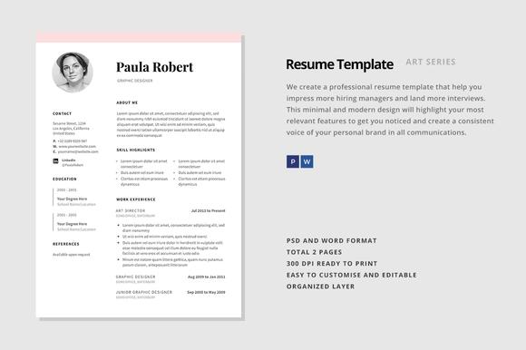 resume template creativework247 resume templates business