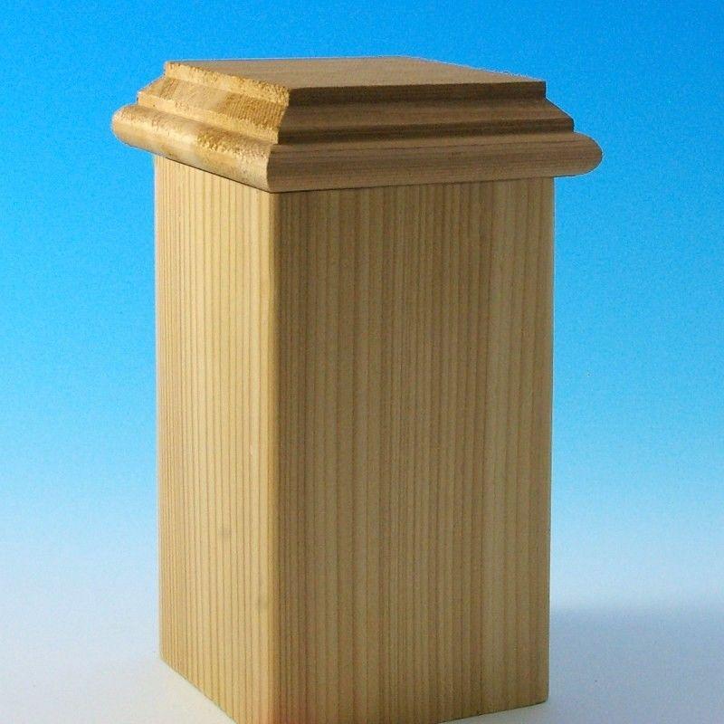 Hatteras Casco Flat Bottom Post Cap By Deckorators Post Cap Wood Post Castine