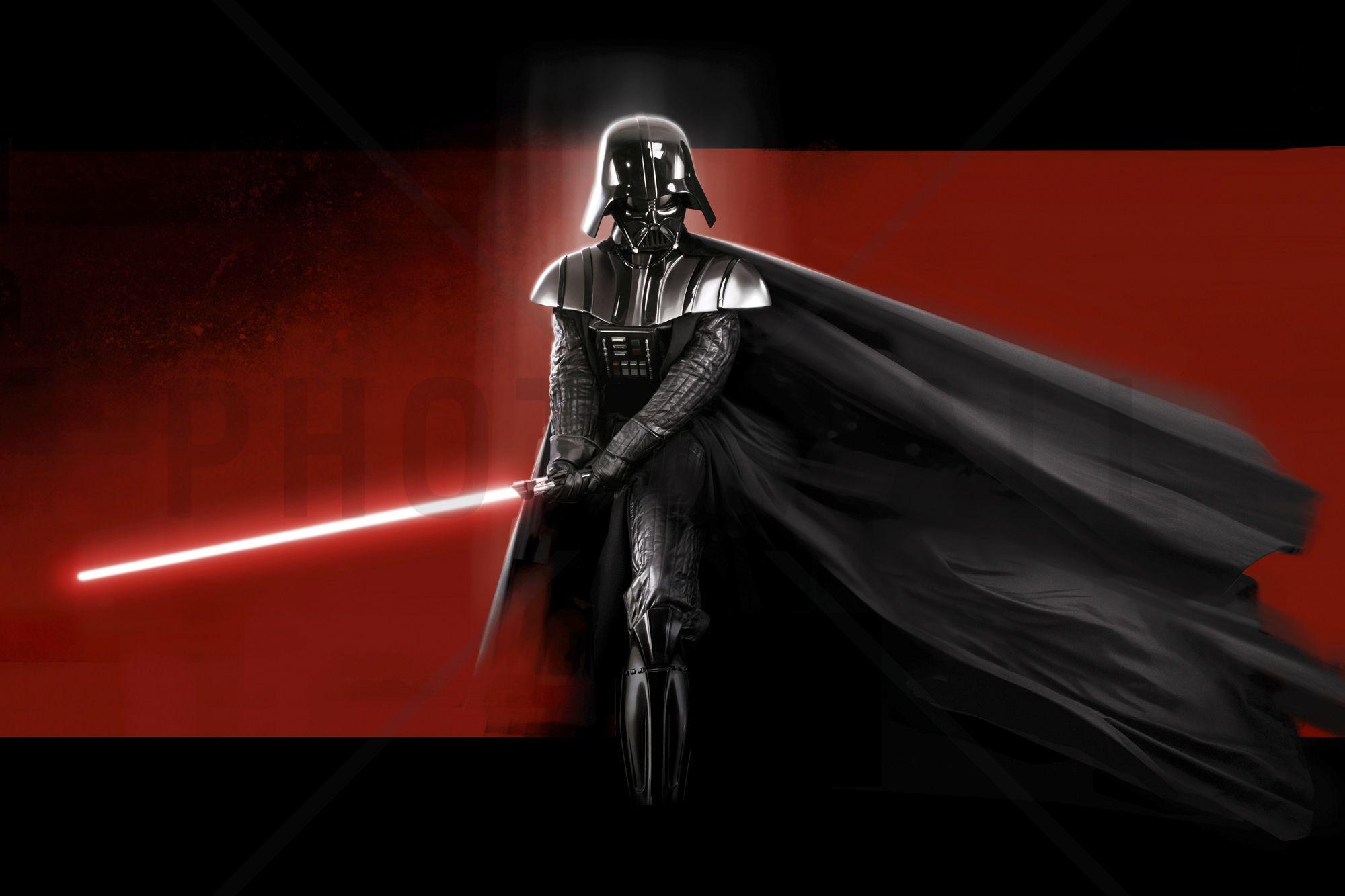 Star Wars Darth Vader Red Wall Mural Photo Wallpaper Darth Vader Wallpaper Star Destroyer Wallpaper Star Wars Room