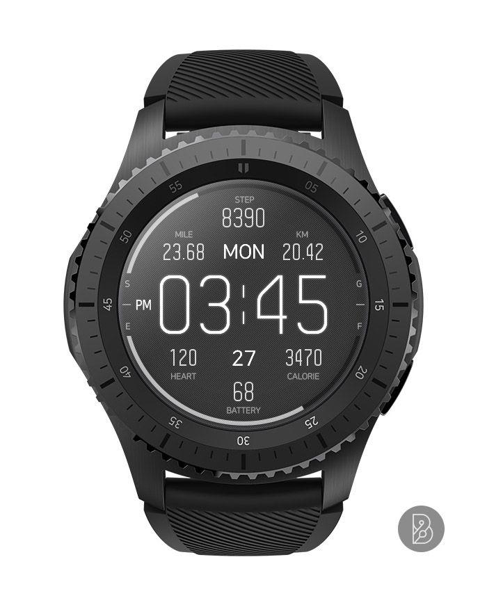 43018bb721a emon - Watch face for Samsung Gear S3   S2. Watchface by Brunen ...