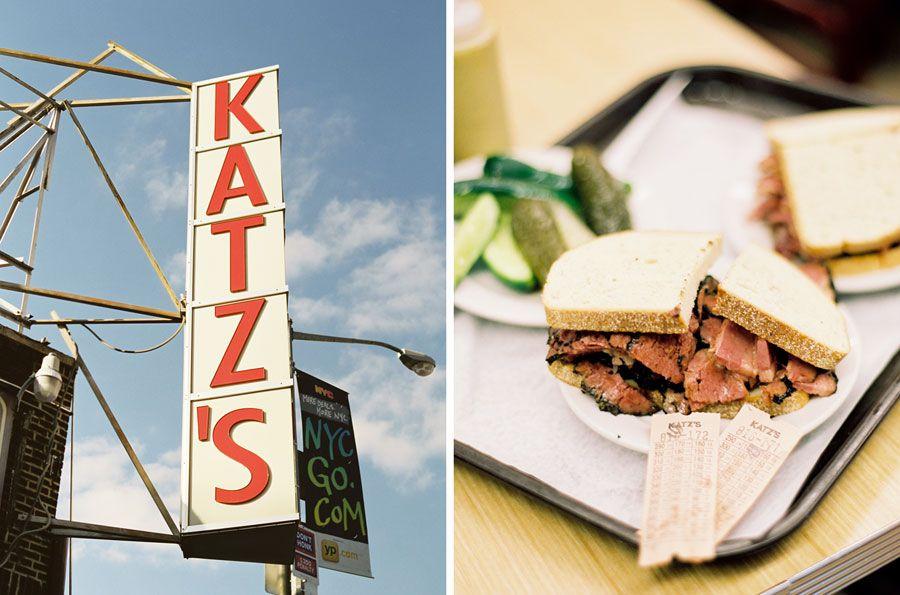 Katz's Deli! pictures by; Vanessa Jackman