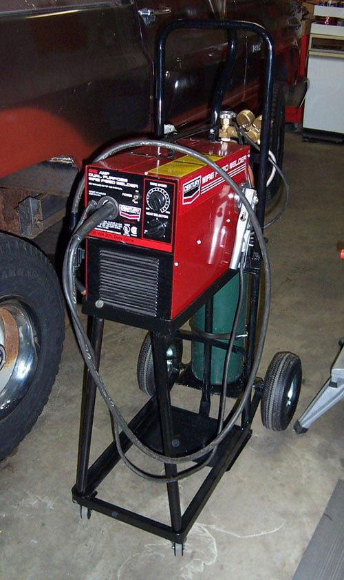 Homemade Welder Carts - Page 2
