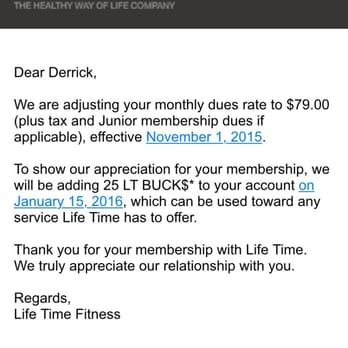 Got This Email Two Days After Cancelled Membership They Contract