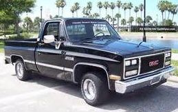 1986 Gmc Sierra Classic Swb With A 1990 Jimmy Front Nose 1985